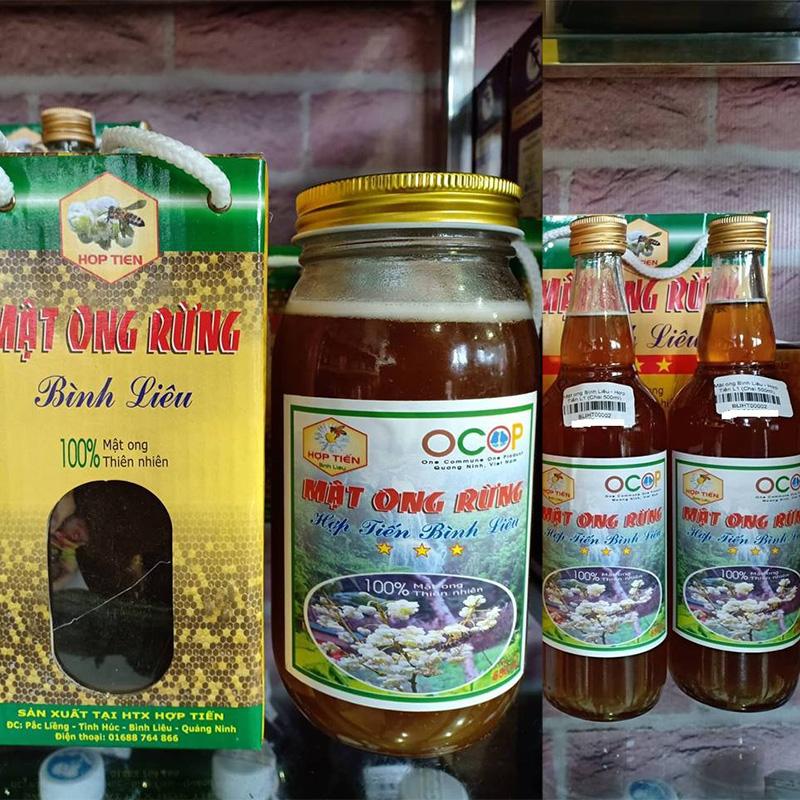 Mật ong rừng là món quà quý với khách du lịch Bình Liêu