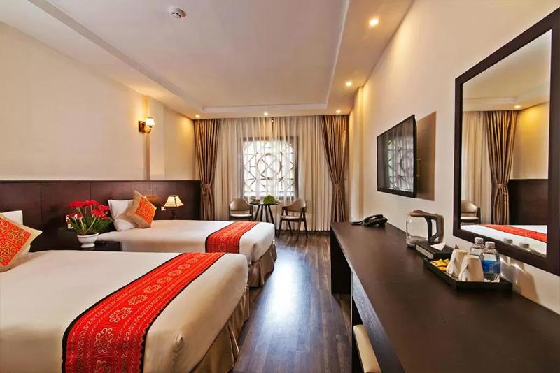 Khách sạn Lacasa Sapa Hotel phòng đôi
