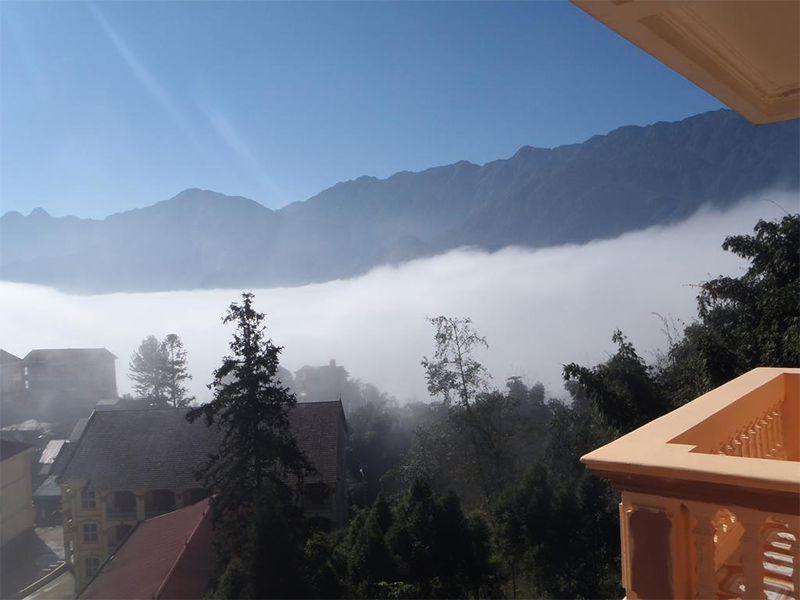 View Khách sạn Sapa Travel Hotel