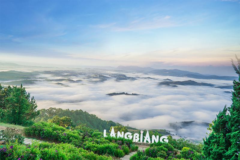 Langbiang - Điểm du lịch Tây Nguyên đẹp