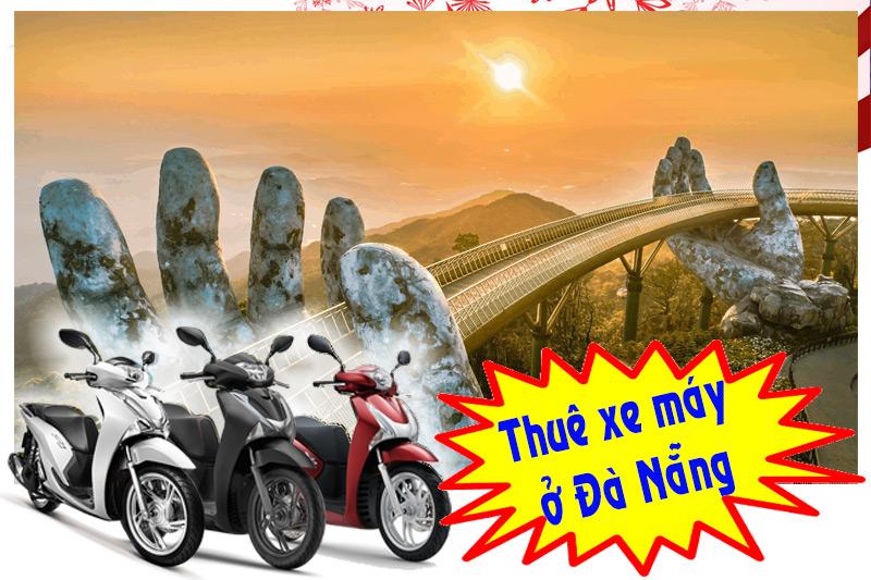 Kinh nghiệm thuê xe máy du lịch Đà Nẵng