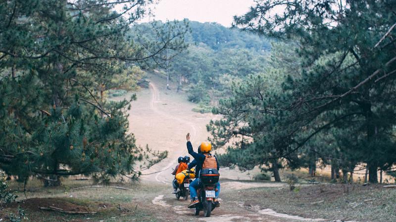 Thuê xe máy du lịch Đà Lạt