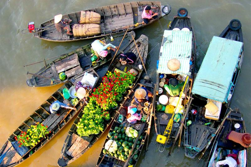 điểm du lịch Việt Nam nổi tiếng miền Tây