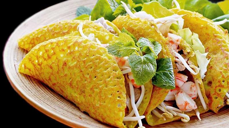 Món ăn đặc sản Đà Nẵng bánh xèo