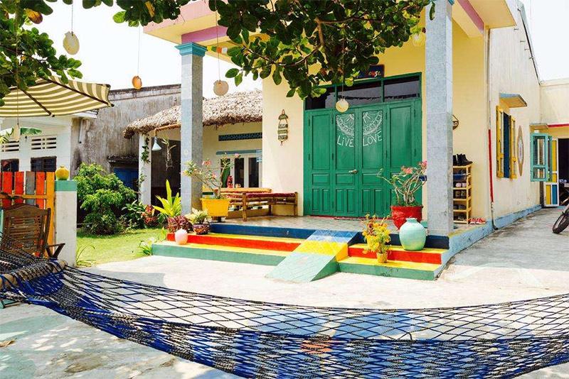 Homestay Hội An giá rẻ Hippie House