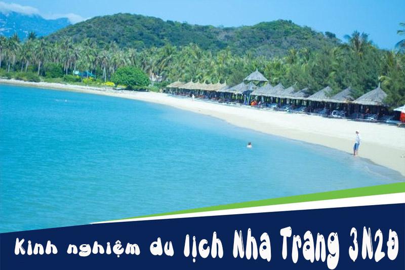 Kinh nghiệm du lịch Nha Trang 3 ngày 2 đêm